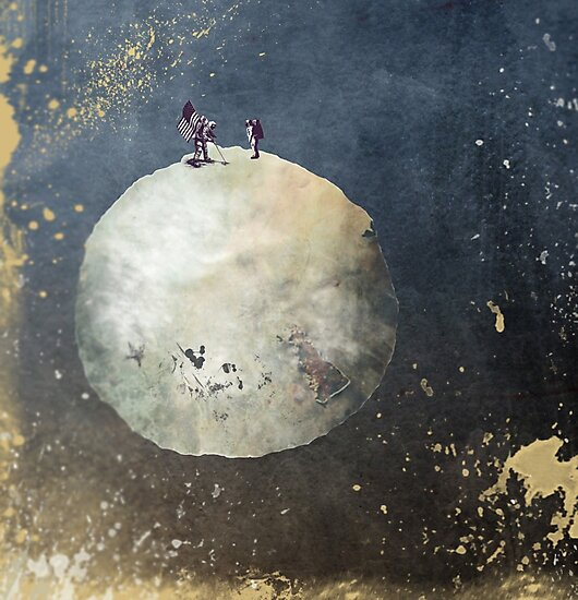 Men walk on Moon by JBJart