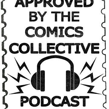 Comics Collective Podcast Logo by davewheeler