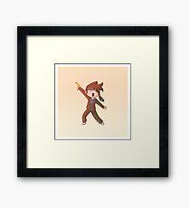 The Doctor Dances - 10th Doctor Framed Print