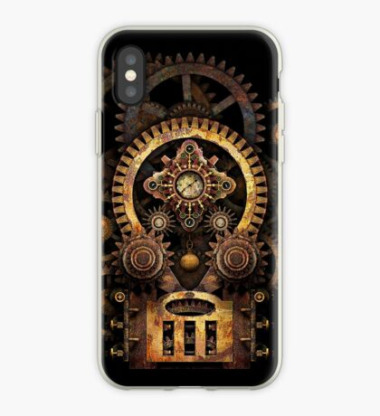 Infernal Steampunk Vintage Machine #2B iPhone Case