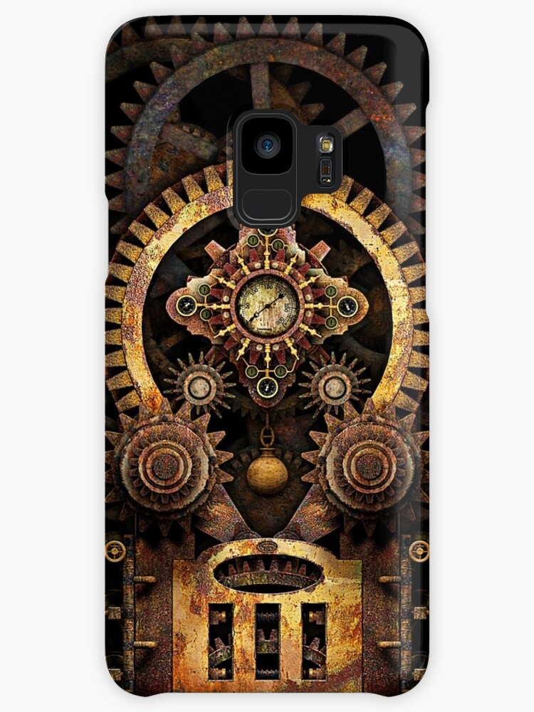 Infernal Steampunk Vintage Machine #2B by Steve Crompton