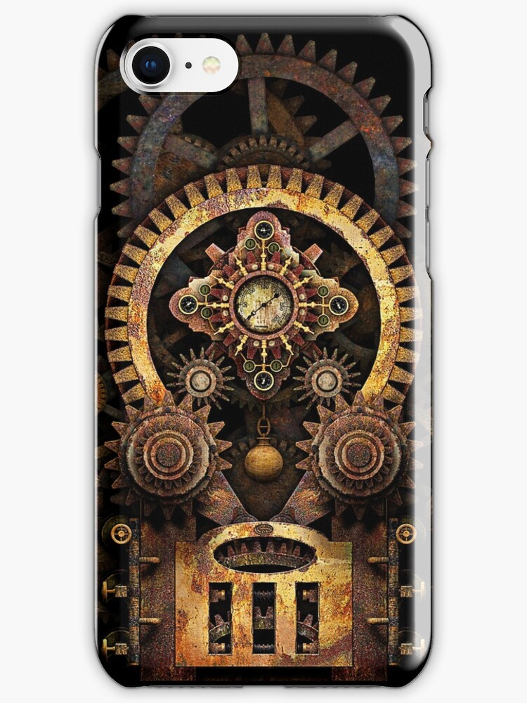 Infernal Steampunk Vintage Machine #2B by Steve Crompton