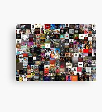 the greatest hip hop collage Canvas Print