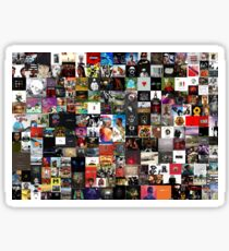 the greatest hip hop collage Sticker