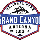 GRAND CANYON NATIONAL PARK ARIZONA MOUNTAINS HIKING CAMPING HIKE CAMP 1919 ADVENTURE by MyHandmadeSigns