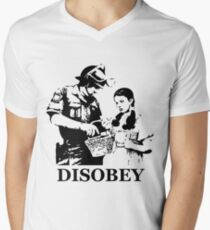 Disobey Search Men's V-Neck T-Shirt