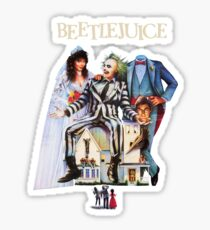 Beetlejuice Sticker