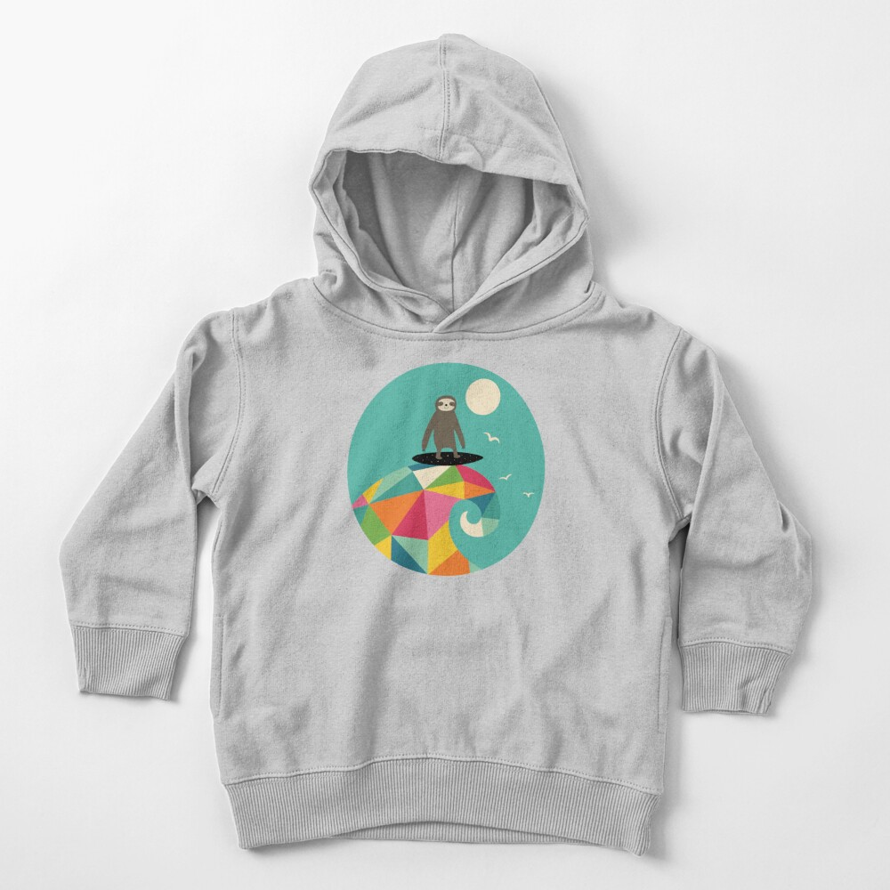 Surfs Up Toddler Pullover Hoodie