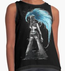 Rainbow Punk: Cybernetic Blue Contrast Tank