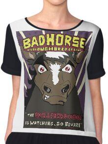 BAD HORSE Chiffon Top