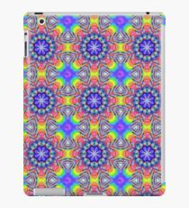 Cute Colourful Fantasy Flowers Pattern iPad Case/Skin