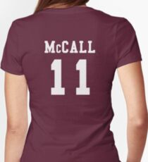 Scott McCall -- 11 Womens Fitted T-Shirt