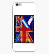 Turn the page and make history iPhone Case