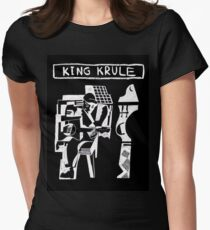 King Krule Womens Fitted T-Shirt