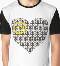 Sherlock Heart Graphic T-Shirt