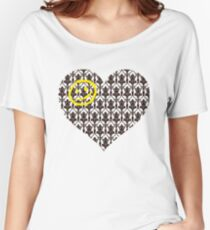 Sherlock Heart Women's Relaxed Fit T-Shirt
