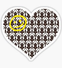Sherlock Heart Sticker