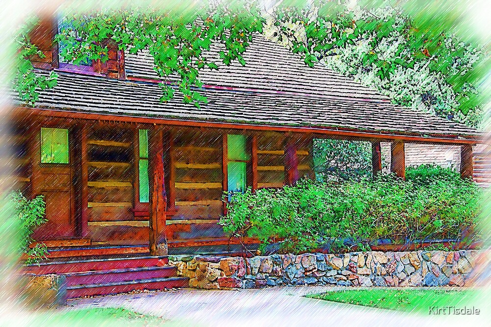 Governors Mansion Arizona Sketched by KirtTisdale
