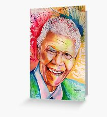 My colors for Mandela Greeting Card