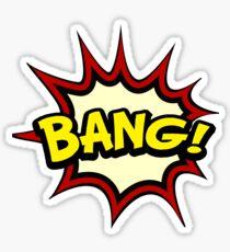 T-shirt BANG Sticker