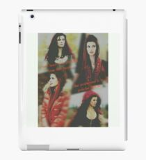 Red, once upon a time iPad Case/Skin