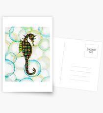Seahorse Postkarten