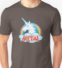 Metal Unicorn T-Shirt