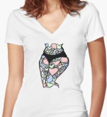 Bodacious Women's Fitted V-Neck T-Shirt