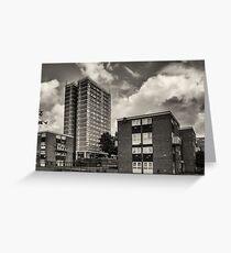Leeds Flats Greeting Card
