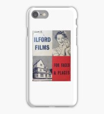 For Faces and Places iPhone Case/Skin