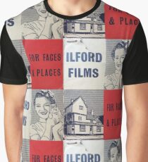 For Faces and Places Graphic T-Shirt