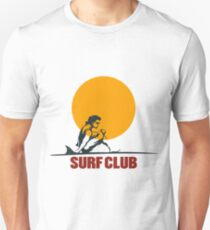 Surf club emblem Unisex T-Shirt