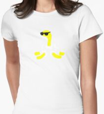 (Wordless) Shuckle Womens Fitted T-Shirt