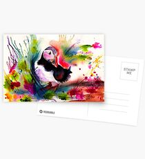 Puffin Postcards