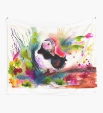 Puffin Wall Tapestry
