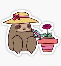 Gardener Sloth Sticker