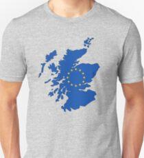 Scotland Map EU Slim Fit T-Shirt