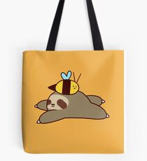 Sloth and Bee Tote Bag