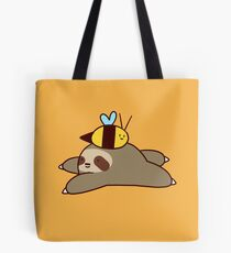 Sloth and Bee Tote Bag