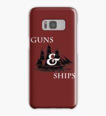 Hamilton: Guns & Ships Samsung Galaxy Case/Skin
