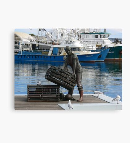 'To the Fisherman' Canvas Print