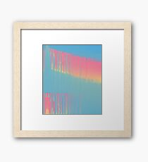 Cool, cool Summer Framed Print
