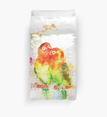 """Love Birds"" Duvet Cover"