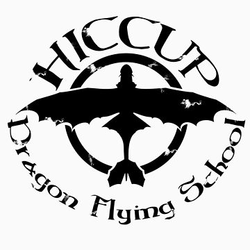 Hiccup's Dragon Flying School by Clownface