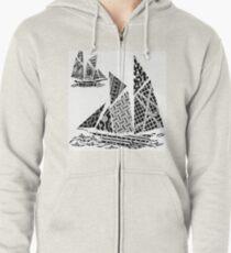 Sail Zipped Hoodie