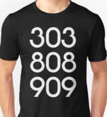 808 303 909 acid house T-Shirt
