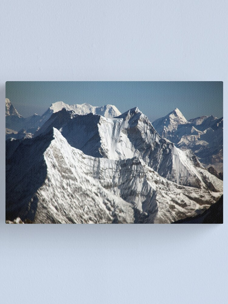 Alternate view of The Himalayas Canvas Print