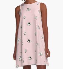 Pops' Expressions A-Line Dress