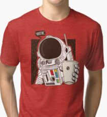 Houston... We have a Coffee!  Tri-blend T-Shirt