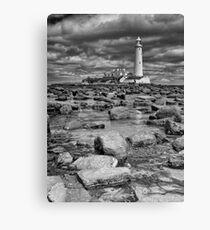St Mary's Lighthouse Canvas Print